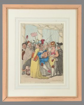 Thomas Rowlandson (1756-1827) - Masquerading