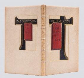 Gregynog Press.- - Revelation Of Saint John The Divine