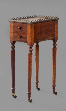A Regency Mahogany Work Table, Circa 1815