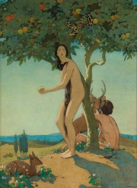 Dorothy Webster Hawksley (1884-1970) - Eve