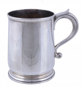 A Silver Tankard, Maker's Mark Ca Over Ap Over Rp In A
