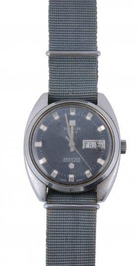 Tissot, Seastar, A Stainless Steel Wristwatch,