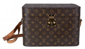 Louis Vuitton, A Hard Sided Vanity Case , In