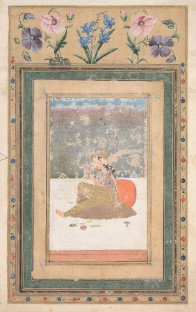 Three Provincial Mughal Miniature Paintings , Northern