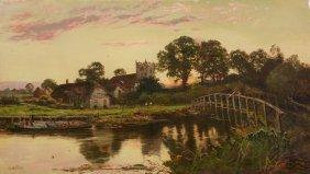 W. Hilton (19th Century) - On The Thames