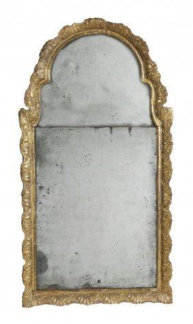 A George I Giltwood Wall Mirror , Circa 1720, The