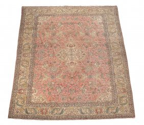 A Tabriz Carpet, Approximately 270 X 353cm