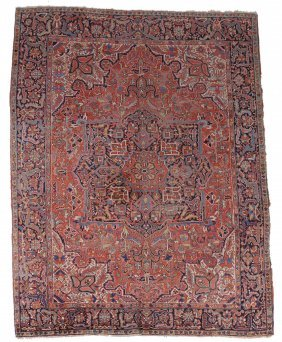 A Heriz Carpet, Approximately 234 X 336cm