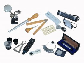 A Quantity Of Jewellery Equipment And Books