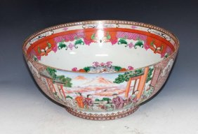 Chinese Antique Large Porcelain Bowl