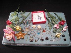 STERLING NAVAJO BRACELET COSTUME JEWELRY & FLOWERS