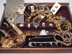 ASSORTED COSTUME JEWELRY NOLAN MILLER SMB STERLING