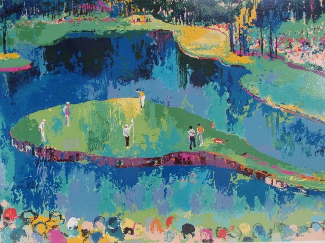 leroy neiman big time golf suite artist proof 1 lot 164. Black Bedroom Furniture Sets. Home Design Ideas