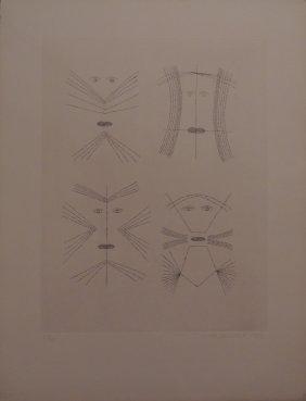 Victor Brauner, Codex D'un Visage, 1962