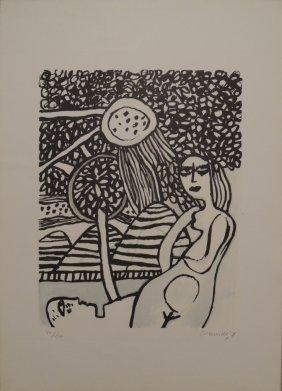 Guillaume Corneille, Sotto La Verzura, 1975
