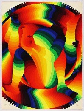 Ay-o, Rainbow Night 3, 1971