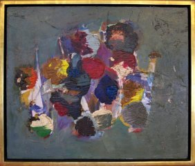John Saccaro San Francisco Abstract Expressionist