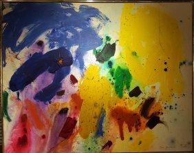 Taro Yamamoto (1919-1994) Abstract Painting