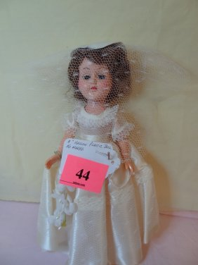 11'' HOLLOW PLASTIC DOLL NO MARKS
