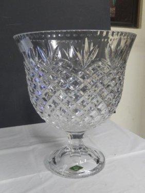 Shannon Crystal Vase Large Crystal Dish Vase Made By Lot 16