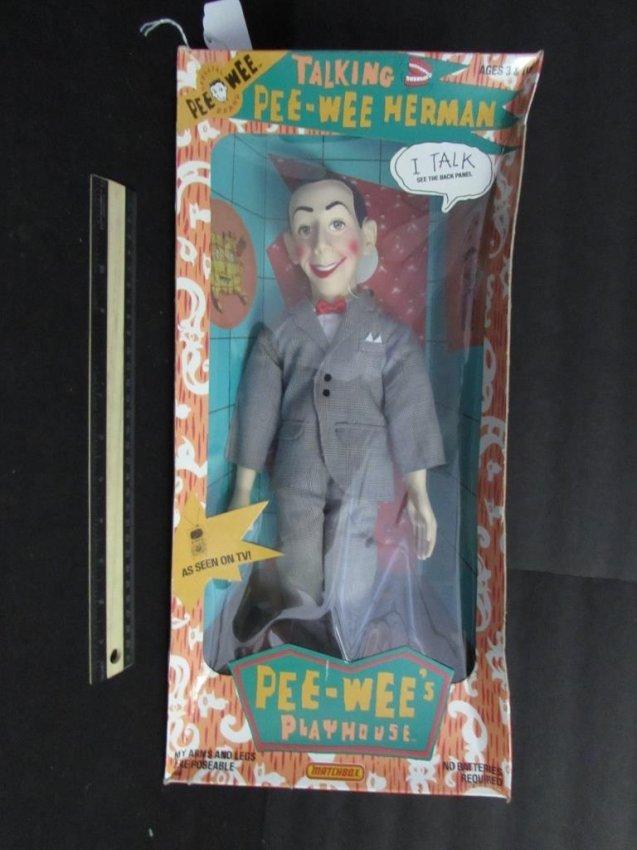 Talking pee wee doll