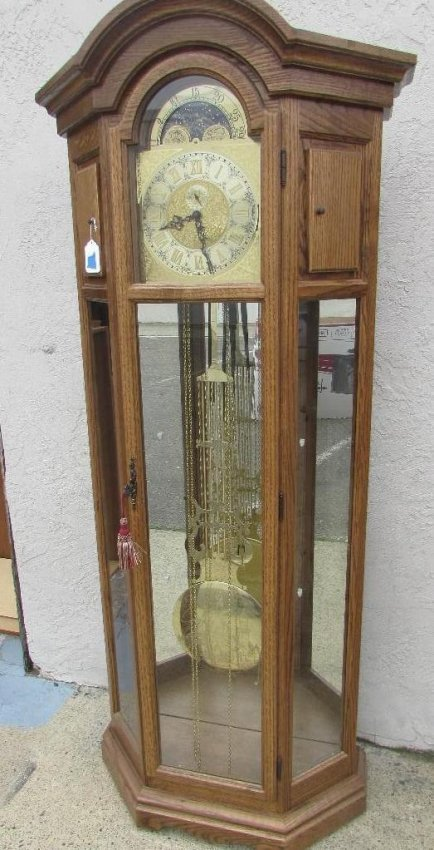 Dold Black Forest Clock Factory Grandfather Clock Lot 97