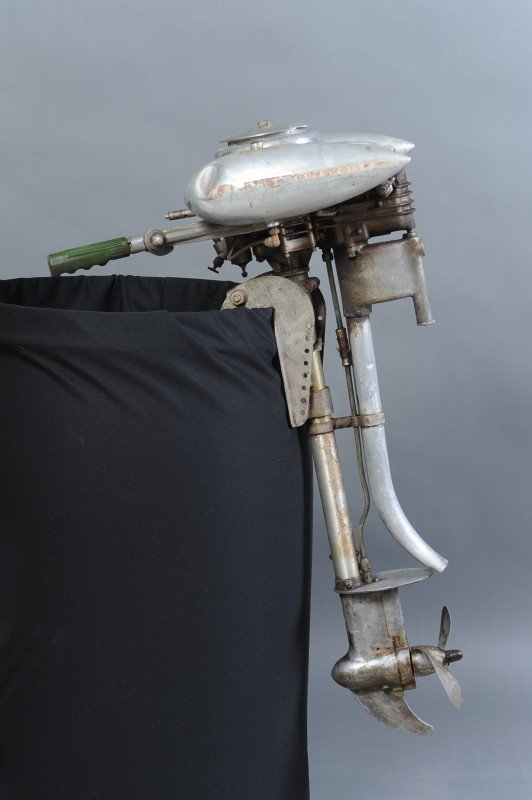 Baker Motor Company >> A SEARS & ROEBUCK WATERWITCH OUTBOARD MOTOR : Lot 27
