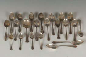 LOT OF STERLING SILVER SPOONS