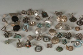 LOT OF MEXICAN STERLING SILVER JEWELRY, EARRINGS