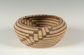 A PAPAGO BASKET