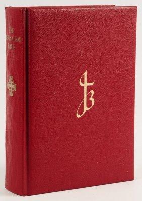 Salvador Dali Illustrated The Jerusalem Bible