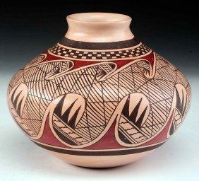 James G. Nampeyo Hopi Pottery Vase