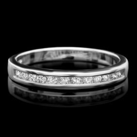 14k White Gold 0.30ct Diamond Ring This Luxurious