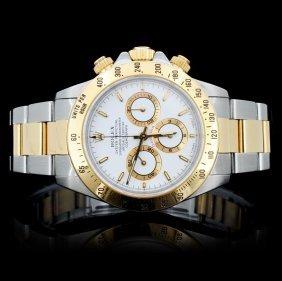 Rolex Daytona Zenith Two Tone Gent's Wristwatch