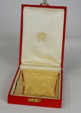Cartier 18k Gold Box