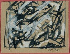 Emilio Vedova (1919-2006), Senza Titolo, 1952
