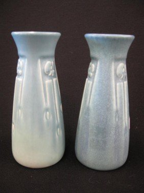 Pair Of Rookwood Pottery Vases,