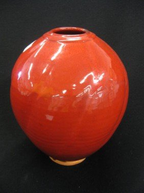 Ben Owens North Carolina Pottery Vase,