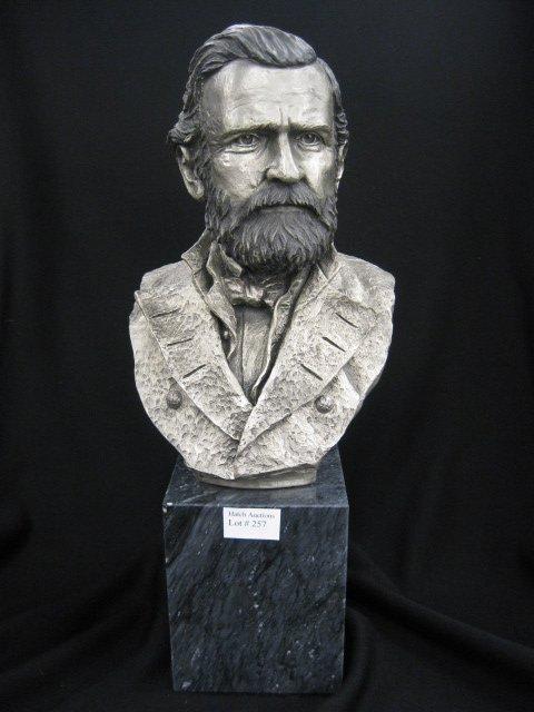 chilmark civil war pewter bust general lot