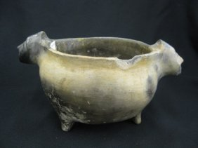Catawba Indian Pottery Bowl,