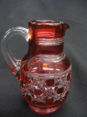 Cranberry Cut -to-Clear Creamer,