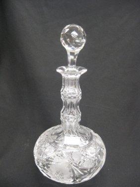 Cut Glass Decanter,
