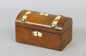 19th Century English Tea Caddy Box,