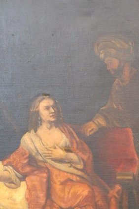 E.v. Forbes Oil Painting, Copy Of A Rembrandt,