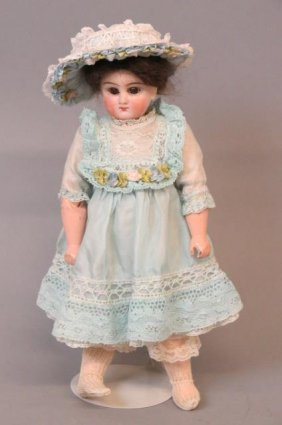 Victorian Bisque Head Doll,