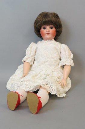 Alt, Beck, And Gottschalk Bisque Head Life Size Doll,