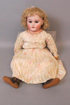 Simon And Halbig Bisque Head Doll,