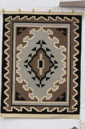 Navajo Indian Blanket By Marie Benally,