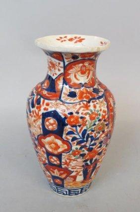 Imari Porcelain Vase,