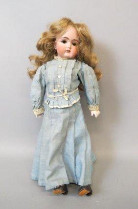 Handwerck German Bisque Head Doll,